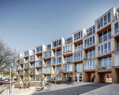 big builds stacked prefab affordable housing  denmark builder magazine