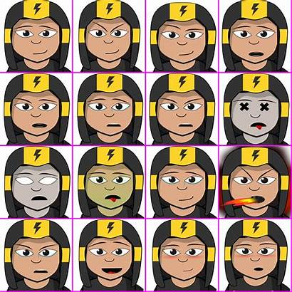 Emotions Different Accuracy Opengameart Openclipart