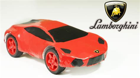 How To Make A Lamborghini by How To Make An Electric Lamborghini Car Out Of Polystyrene