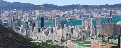 digital helicopter ride  google maps launched  hong kong hong kong  press hkfp