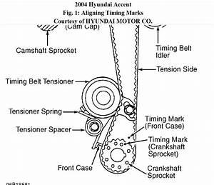 2005 Hyundai Tucson Timing Belt Diagram
