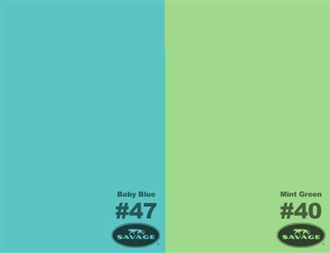 baby blue mint green seamless paper kit backdrop express