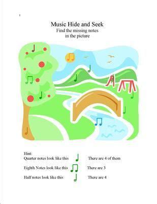 fun printables   musical matters