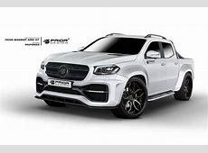 Prior Design develops widebody kit for Mercedes XClass