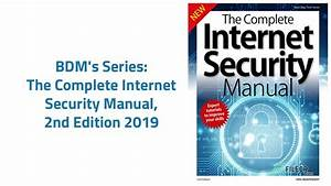 The Complete Internet Security Manual