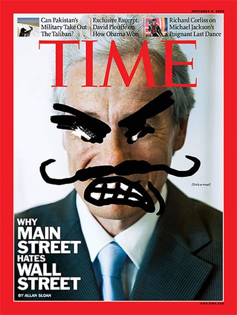 Time Magazine Cover Why Main Street Hates Wall Street