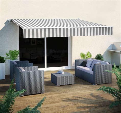 tenda da sole a bracci tende a bracci ombra di stile per balconi terrazze e