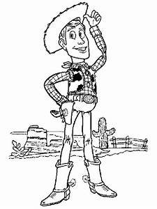 Woody The Cowboy Page Coloring Pages