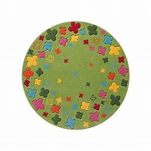 Tapis rond multicolore idees de decoration interieure for Tapis rond multicolore