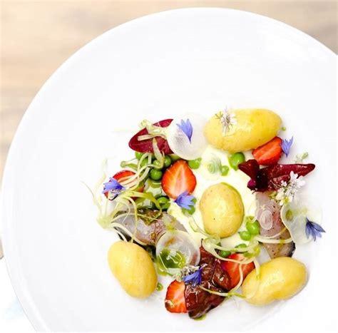 pommes de terre de noirmoutier en salade maquereau