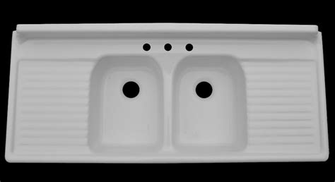 reproduction kitchen sinks with drainboards farmhouse drainboard sinks retro renovation