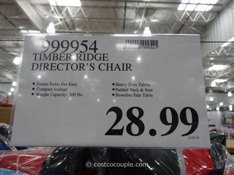 timber ridge director s chair