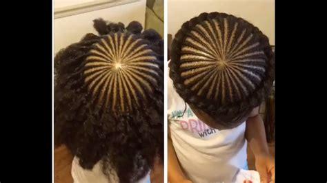 tnc  halocrown braid  kids natural hair youtube