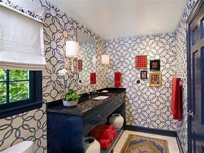 Bathroom Guest Bath Hgtv Traditional Bold Remodel