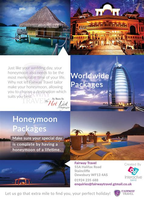 An A5 Advertisement For A Travel Agency Places To Visit