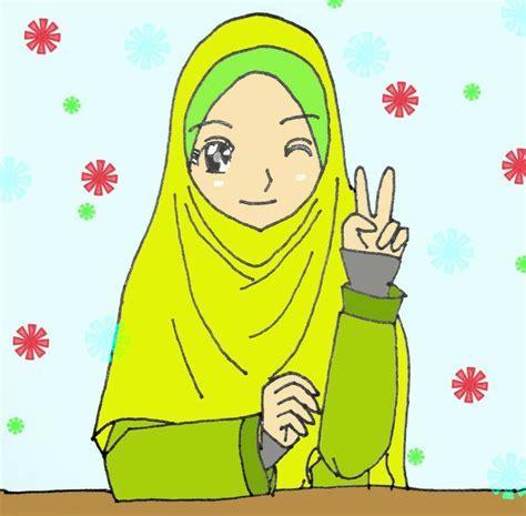 7300 Koleksi Gambar Kartun Hijabers Cantik Gratis