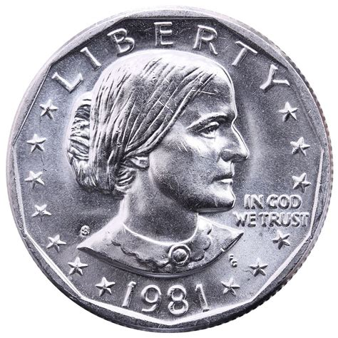 susan b anthony coin 1981 s susan b anthony choice bu dollar us mint coin ebay