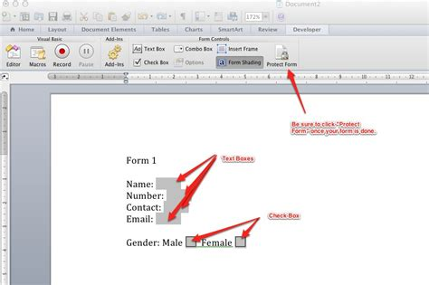create word template with fillable fields adding form fields word 2010 adding fillable fields in word 2010 how to create forms convert