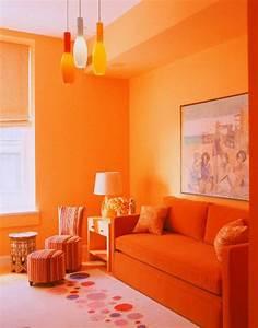 Einrichten Mit Farben Farbe Orange Der Andere Name Fr