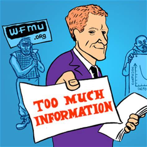 Too Much Information With Benjamen Walker  Wfmu Listen