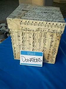 Partytheke Selber Bauen : october 6th fundraiser sheet music donation box my crafts pinterest box memory crafts ~ Markanthonyermac.com Haus und Dekorationen