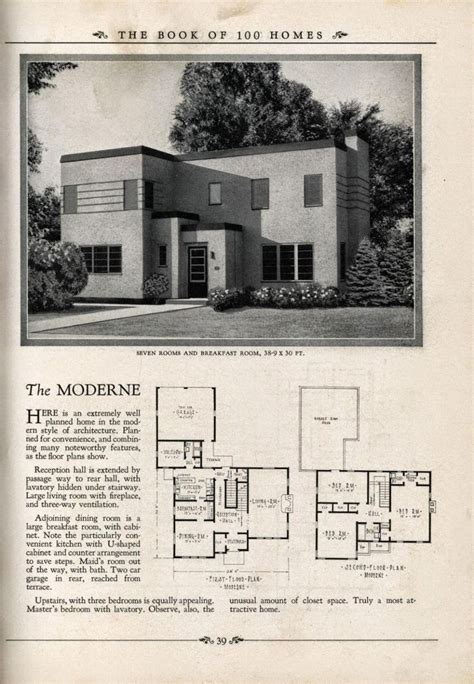 deco house plans deco resource blue prints from the past deco