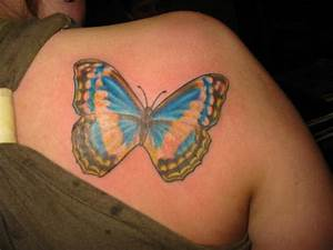 Tattoos Back Tattoos: Butterfly Back Tattoos for Women