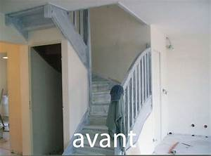 Peindre Escalier En Bois : peindre un escalier en bois exotique meilleures images d ~ Dailycaller-alerts.com Idées de Décoration