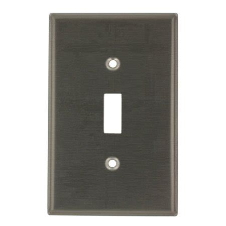 leviton ssj1 40 stainless steel midway single gang toggle