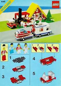 Lego Classic Bauanleitungen : city lego holiday home with caravan instructions 6388 city ~ Eleganceandgraceweddings.com Haus und Dekorationen