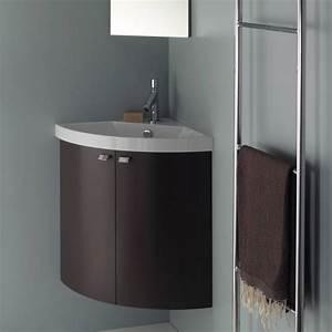 Meuble Vasque Angle : lave main d 39 angle avec lavabo lave main d 39 angle pour ~ Teatrodelosmanantiales.com Idées de Décoration