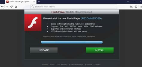 remove flash player update recommended pop  guide