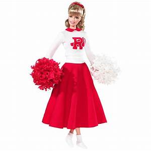 My Favourite Doll - Grease Barbie - Sandy Cheerleader ...