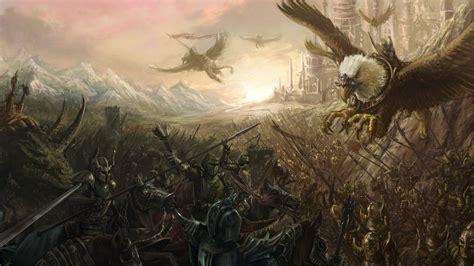 warrior, Fantasy art, Creature, Battle, Battlefields ...