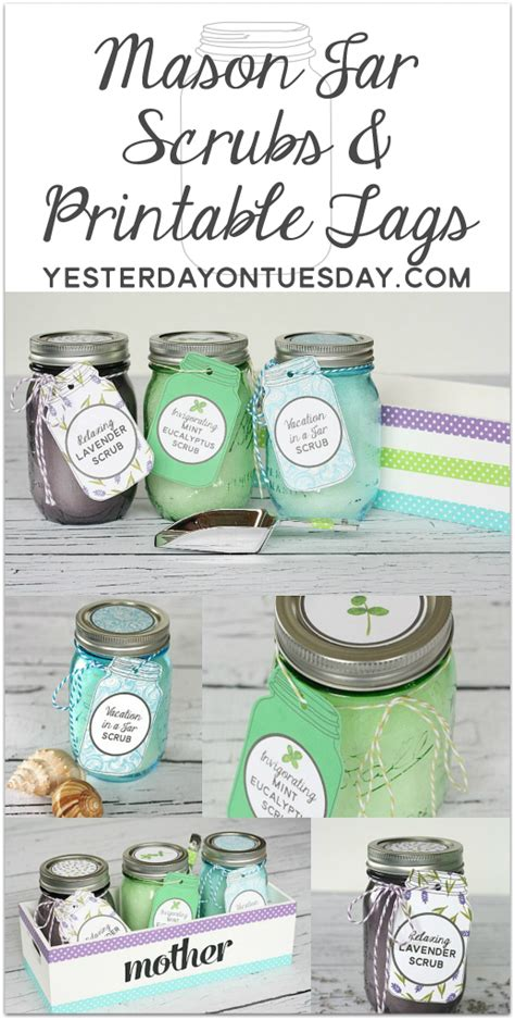 mason jar scrubs mothers day giveaway yesterday