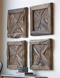 wood wall art Great Examples of Rustic Wall Art | Furniture & Home ...