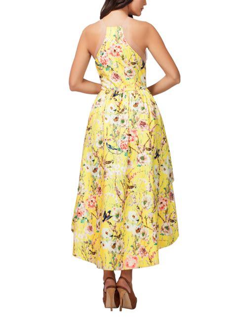 kashmiraa versatile yellow floral dress shop dresses