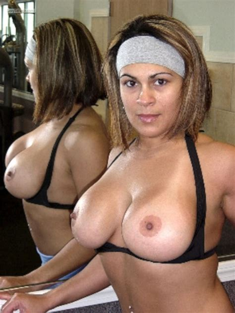 Wifes Big Tits Topless Hot Latina Mom From United