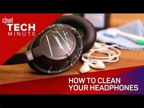 how to clean iphone headphone how to clean your headphones tech minute 183 techcheckdaily