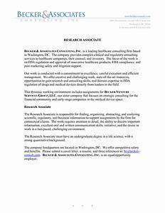 research cover letter project scope template With clinical research associate no experience