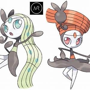 Meloetta Pokemon X, Y, Omega Ruby & Alpha Sapphire 3DS ...