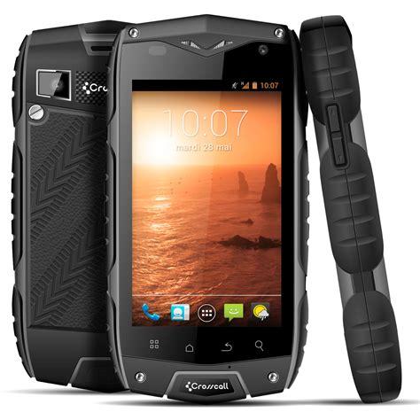 crosscall odyssey noir mobile smartphone crosscall sur
