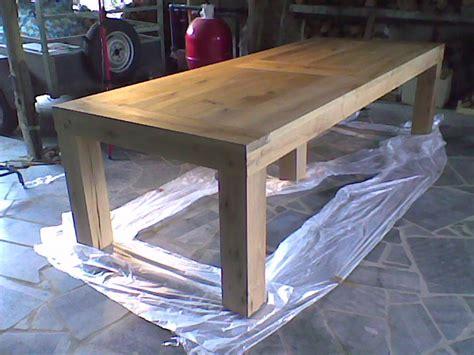 construire sa cuisine en bois table rabattable cuisine fabriquer une table en bois
