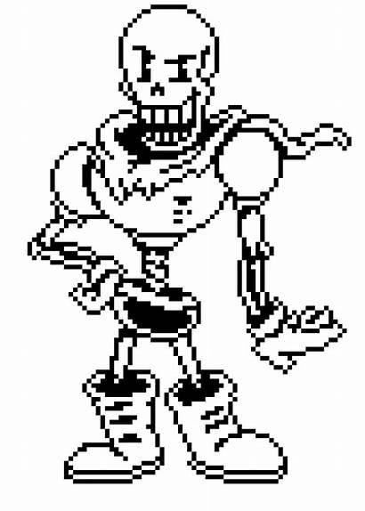 Pixelartmaker Papyrus Sprite