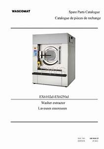 Diagrams  Parts And Manuals For Wascomat Ex6102cl Washer