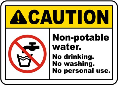 Nonpotable Water No Drinking Sign J4475  By Safetysignm. Baby Room Wall Murals. Postoperative Signs. Acute Signs Of Stroke. Road Transport Signs Of Stroke. Piping Logo. Java Development Banners. Glossy Stickers. Based Murals
