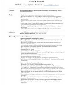 resume sles for executive assistant jobs executive assistant free resume sles blue sky resumes