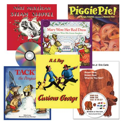 classic read aloud book and cd set set of 6 390 | 91322