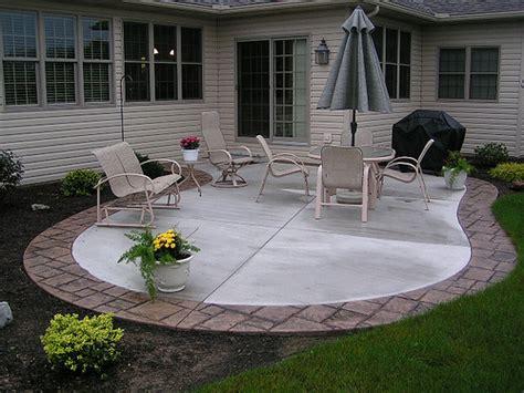 possible idea for extending our concrete patio adding
