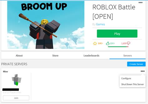 vipprivate servers roblox support
